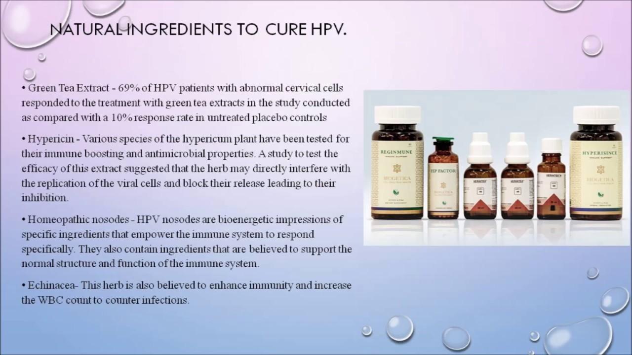 human papilloma cure