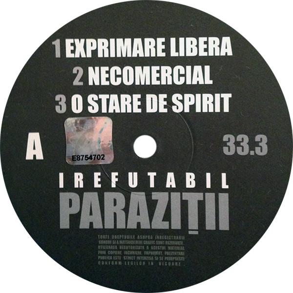 Paraziții - Irefutabil (, CD)   Discogs