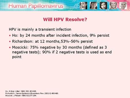 human papillomavirus infection go away hpv causes ana