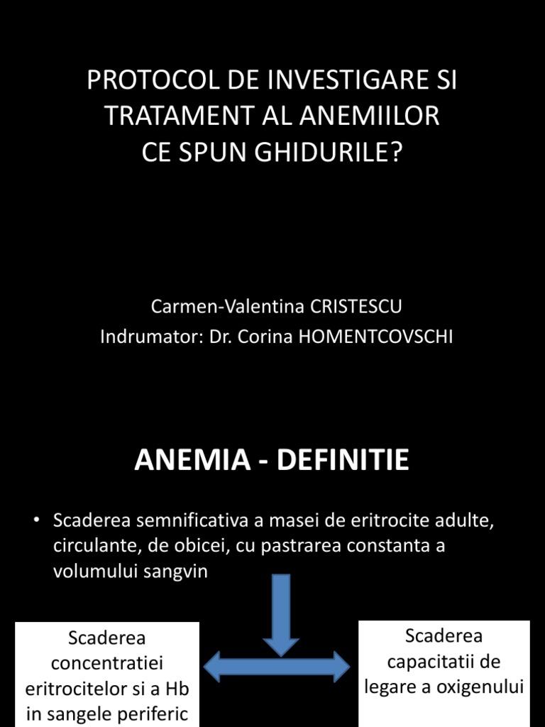Anemia la pacientii varstnici