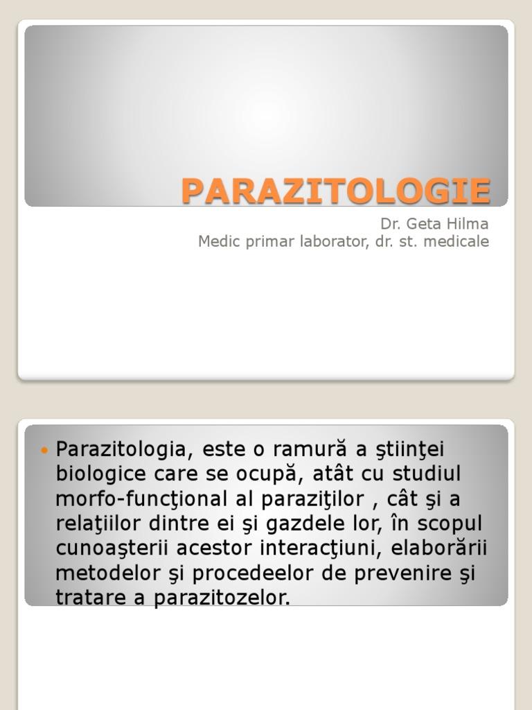 Parazitozele intestinale la copii