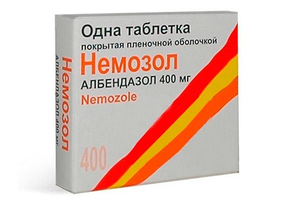 paraziți vindecători 6 comprimate helmintiaza cronică la copii