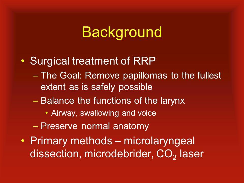 Respiratory papillomatosis diagnosis, Respiratory papillomatosis larynx