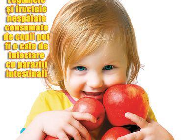 semne ale apariției viermilor la copii