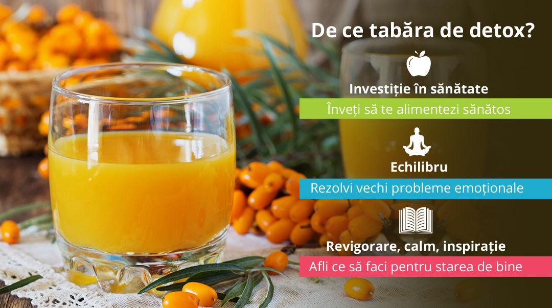 Detoxifiere ネ冓 slトッire: Tabトビa DETOX - program avansat