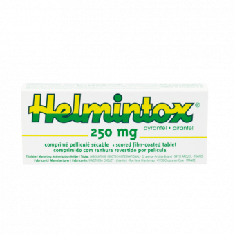 Helmintox 250 mg cena