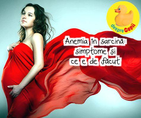 Anemia in sarcina – cauze, preventie, tratament - Clinica Dr. Negoita