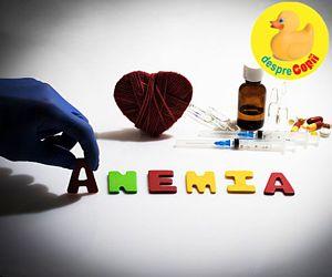 Anemia la copii