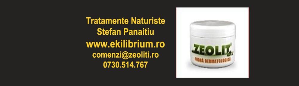 EQUILIBRIUM DETOX -detoxifiant pentru uz uman pe baza de zeolit
