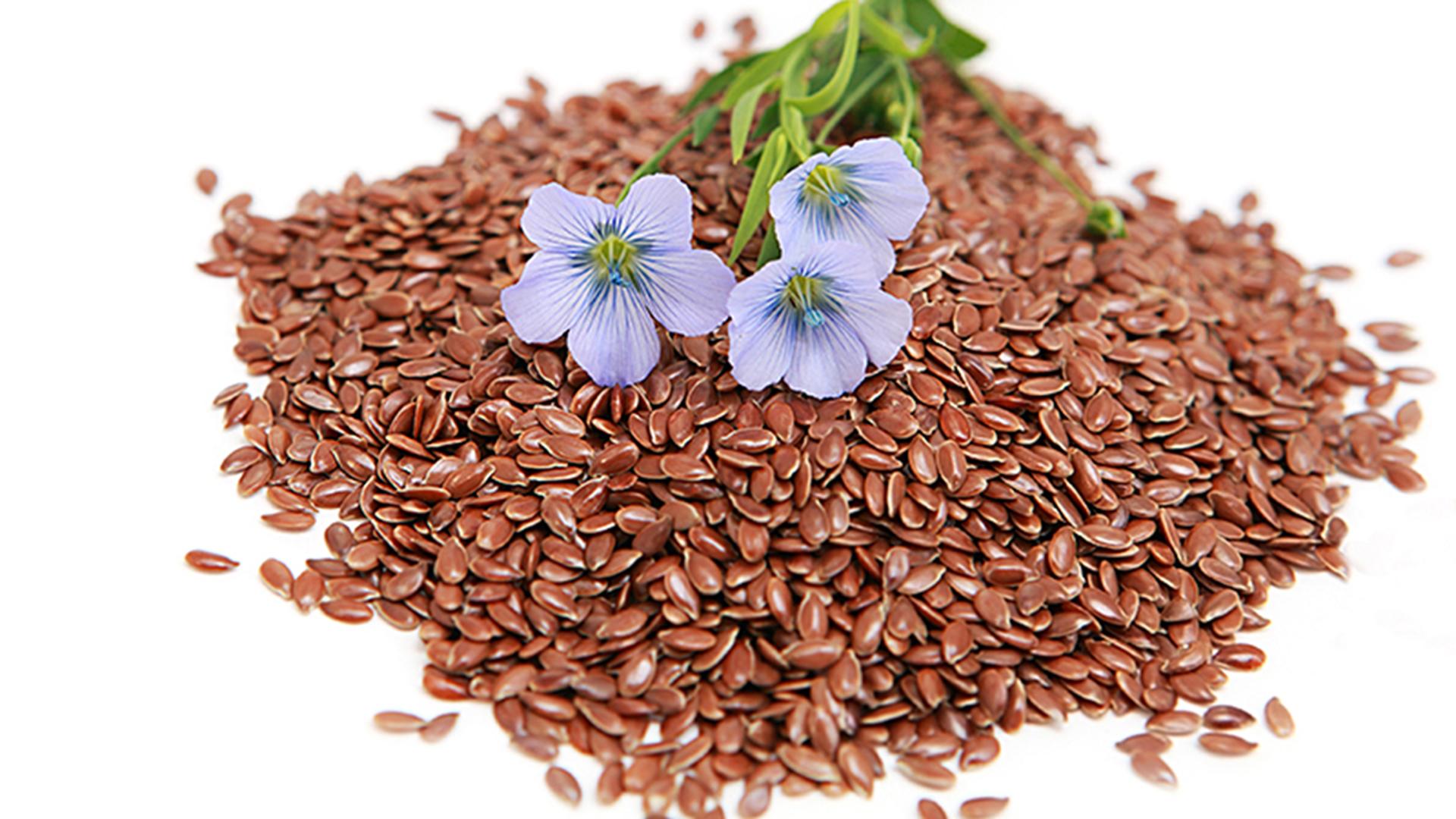 curata colonul cu seminte de in