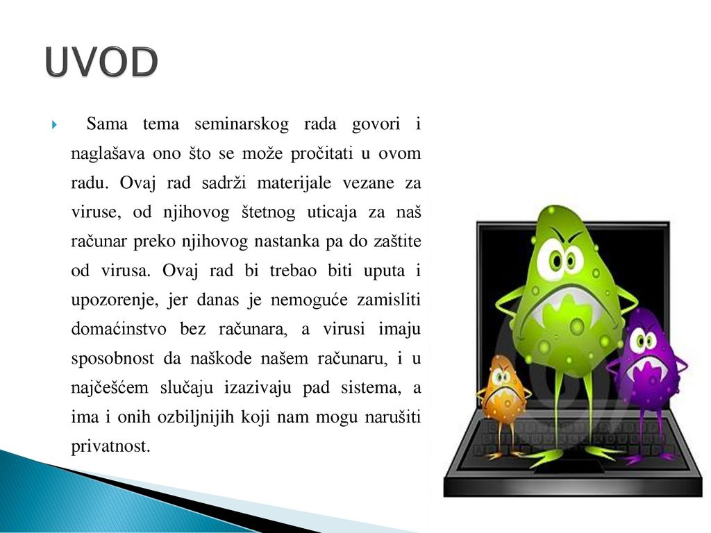 virusi na racunaru