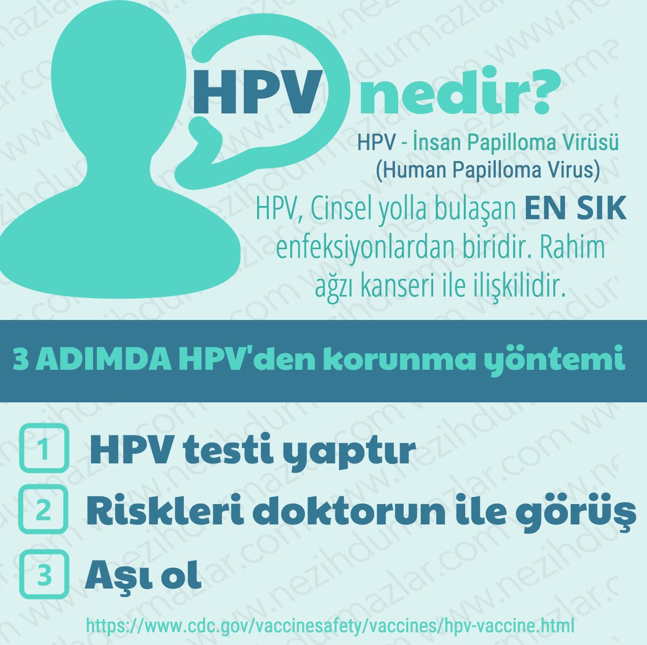 human papillomavirus asisi nedir