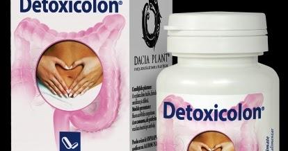 Detoxicolon, 60 comprimate - Dacia Plant : Farmacia Tei