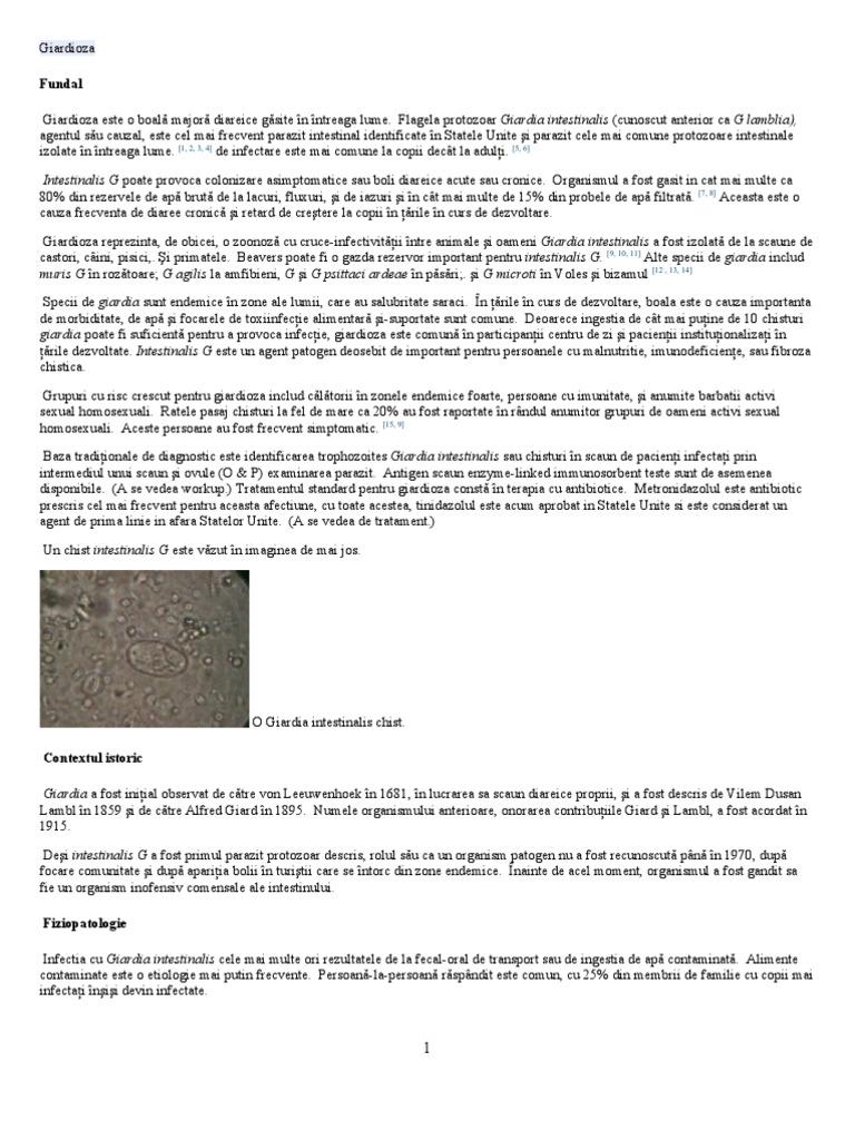 bronsbane de giardia